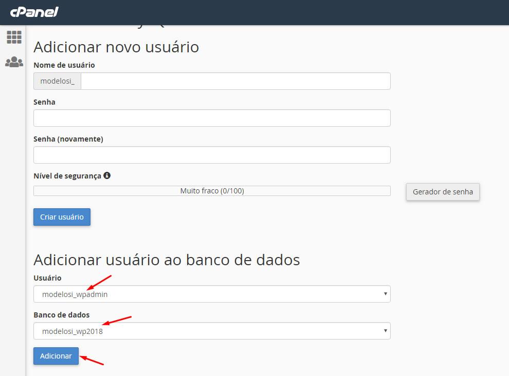 B2B Host - Tutorial de como instalar o WordPress - Passo 21.