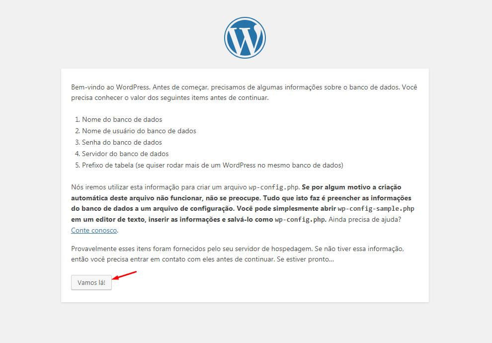B2B Host - Tutorial de como instalar o WordPress - Passo 23.