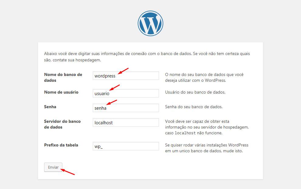 B2B Host - Tutorial de como instalar o WordPress - Passo 24.