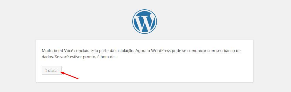 B2B Host - Tutorial de como instalar o WordPress - Passo 25.