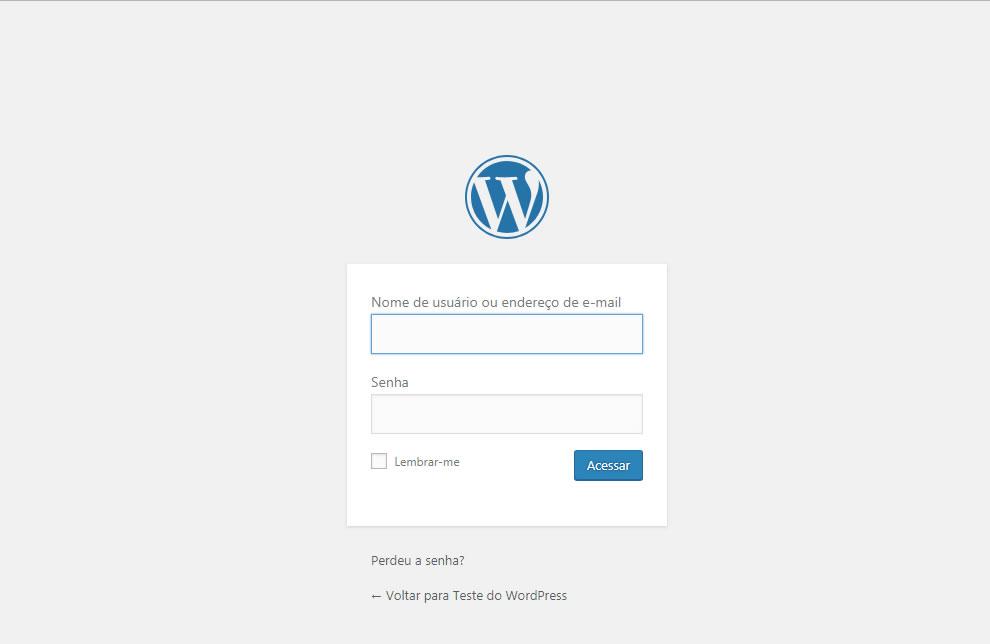 B2B Host - Tutorial de como instalar o WordPress - Passo 27.